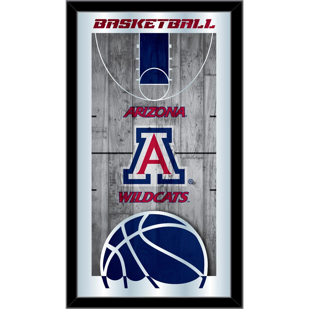 Arizona 15 Quot X 26 Quot Basketball Mirror By Holland Bar Stool
