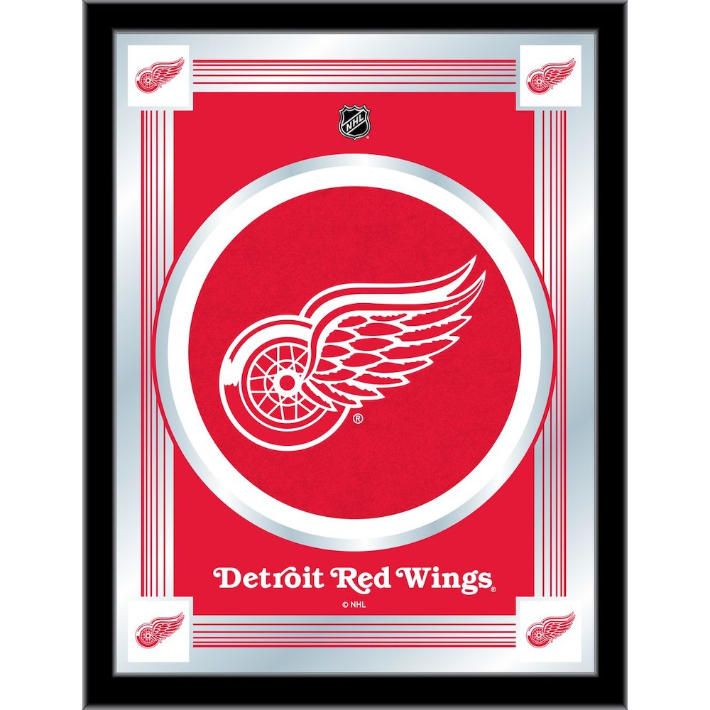 Detroit Red Wings Logo Mirror