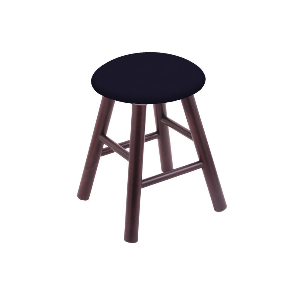 Maple Vanity Stool in Dark Cherry Finish with Canter Twilight Seat. Picture 1