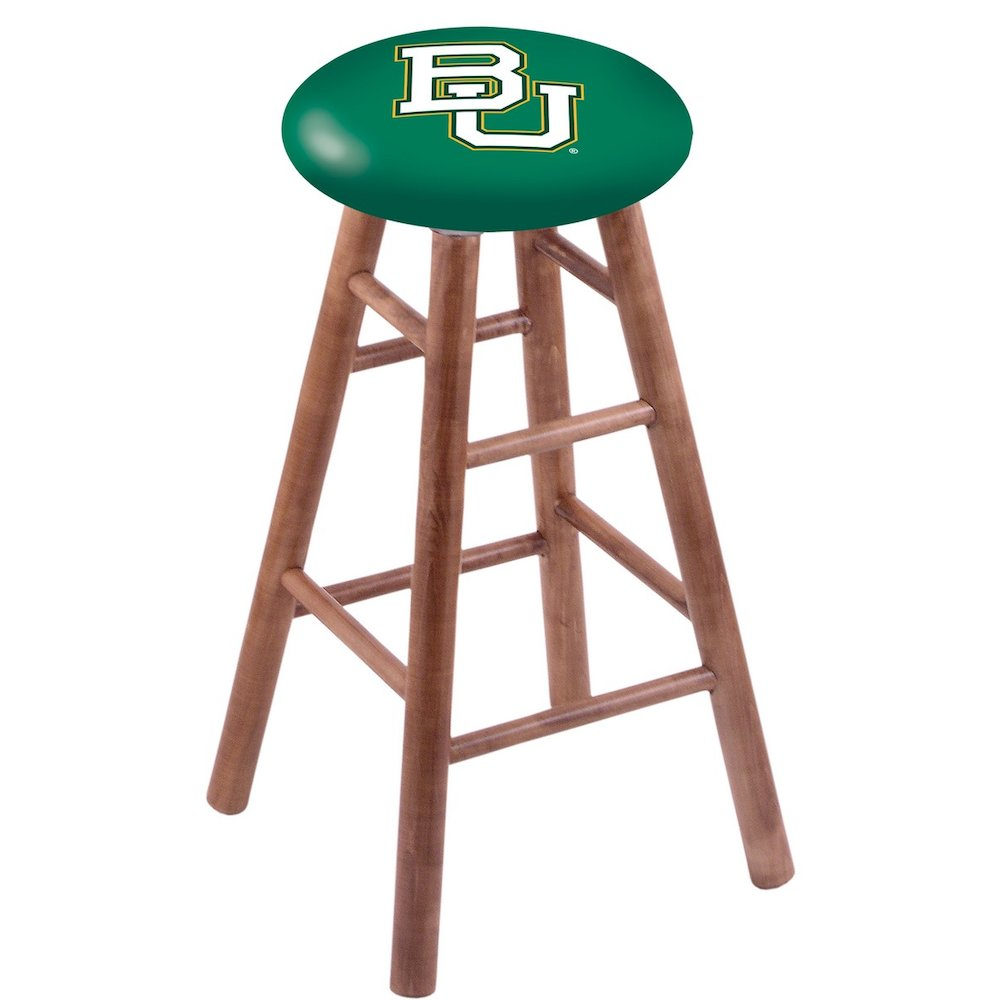 Maple Counter Stool in Medium Finish with Baylor Seat. Picture 1
