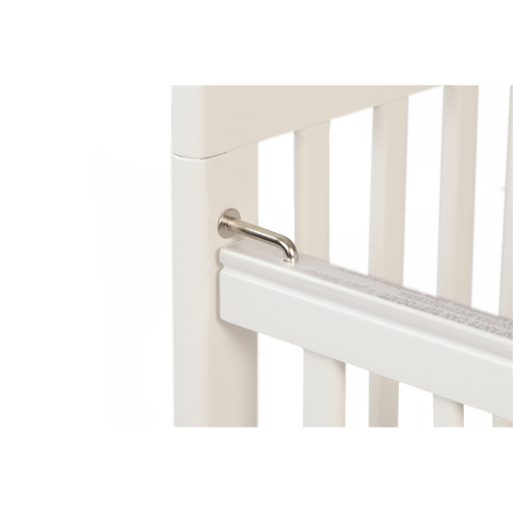 The Little Wood Crib – White, White. Picture 5