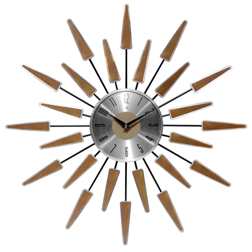 midcentury modern vintage wall clock - satellite  midcentury modern vintage wall clock
