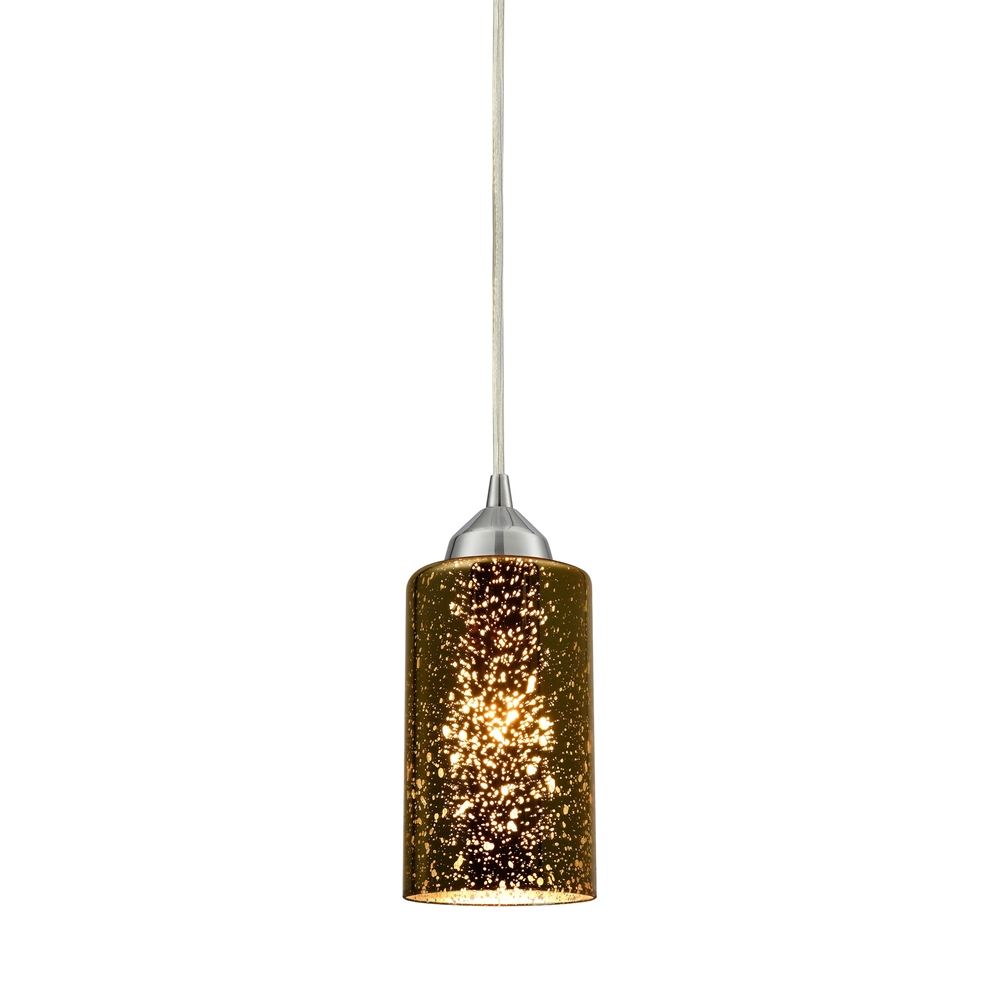 Illusions 1 Light Pendant In Polished Chrome, 10505 1. Picture 1