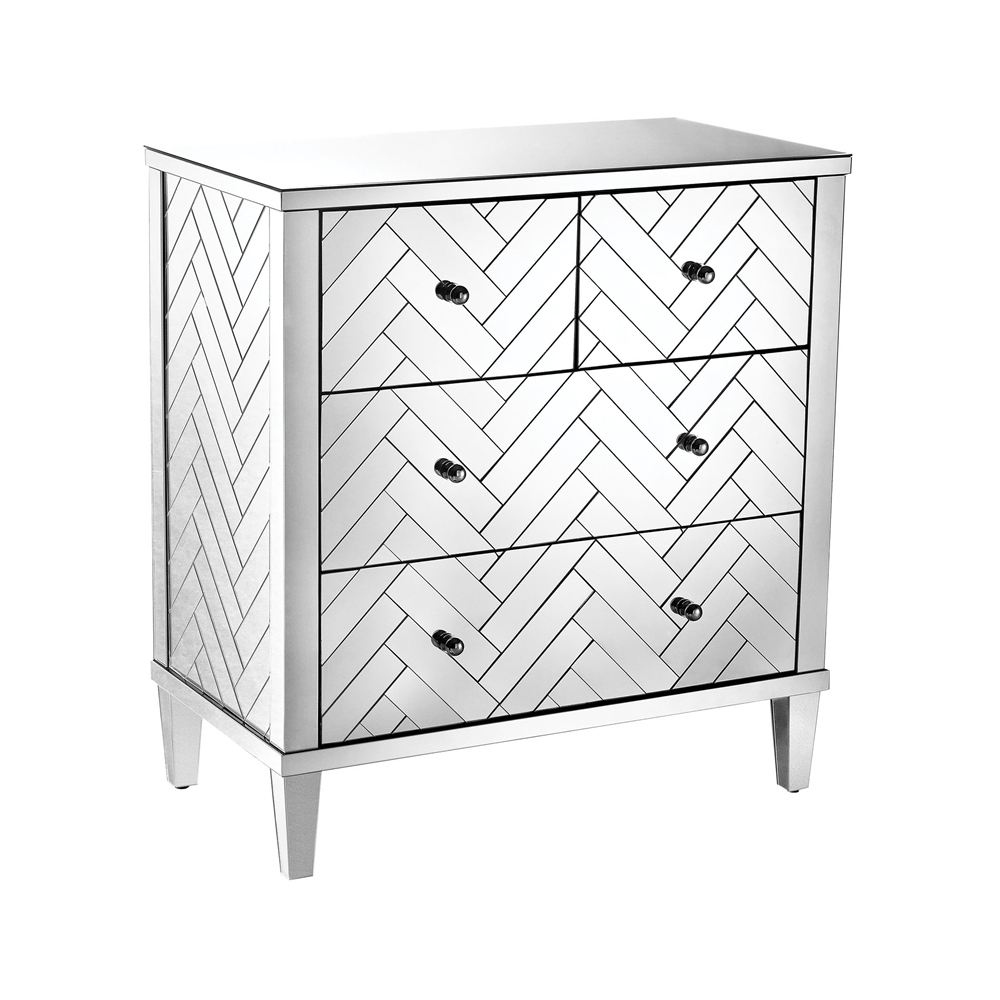 Chatelet Chest In Clear Mirror Finish. Picture 1