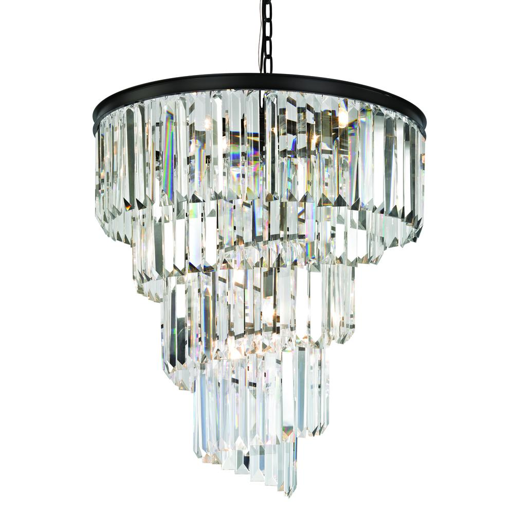 Palacial 9 Light Chandelier In Oil Rubbed Bronze. Picture 1
