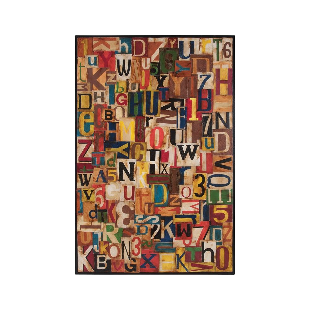 Typographic Collage. Picture 1