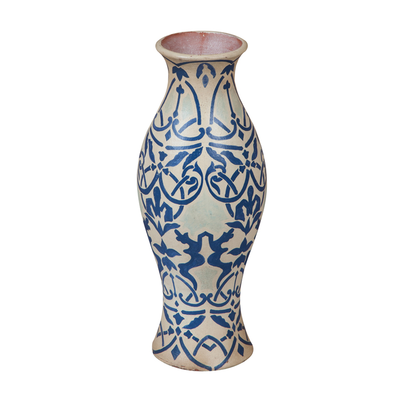European Damask Vase. Picture 1
