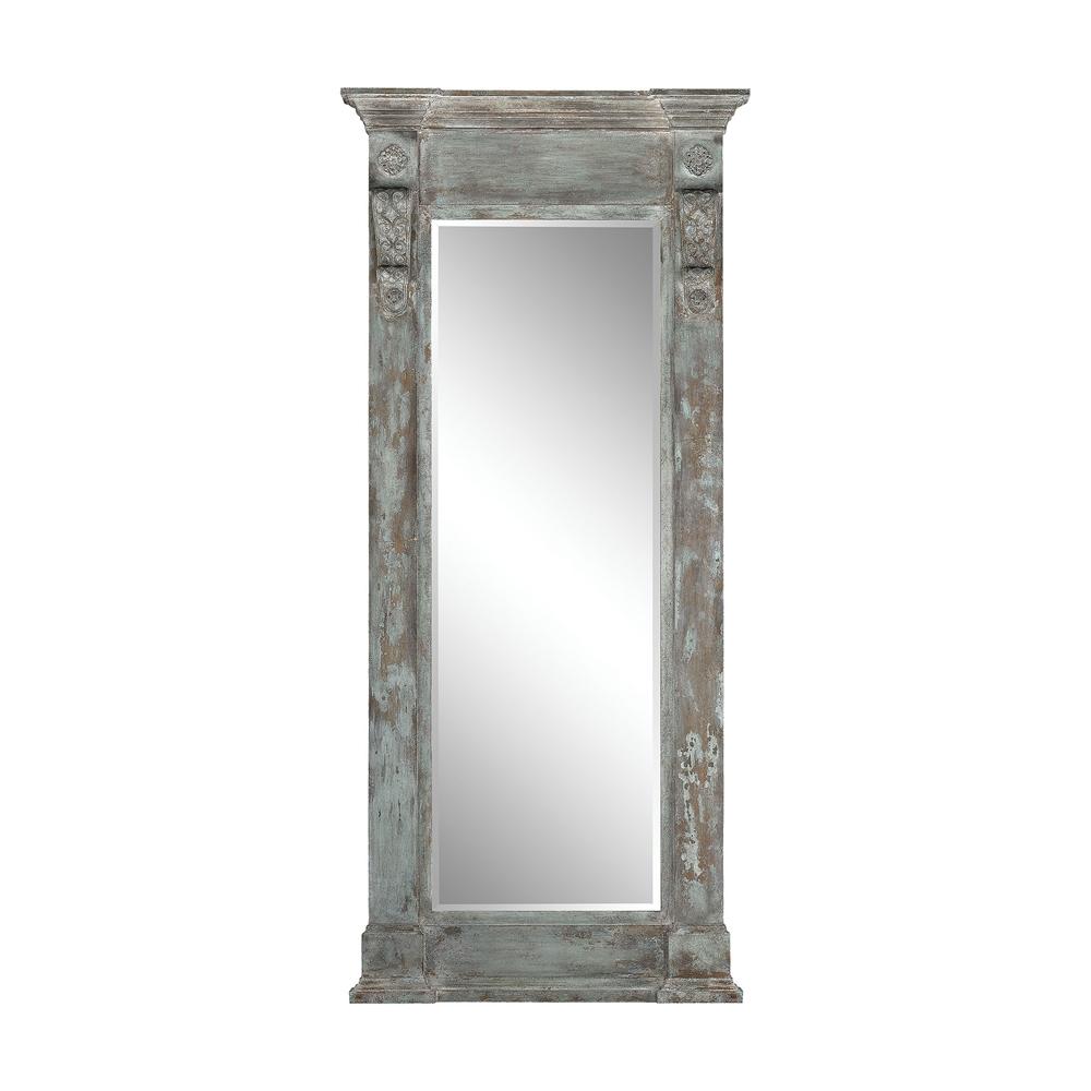 Neo Classical Column Mirror. Picture 1