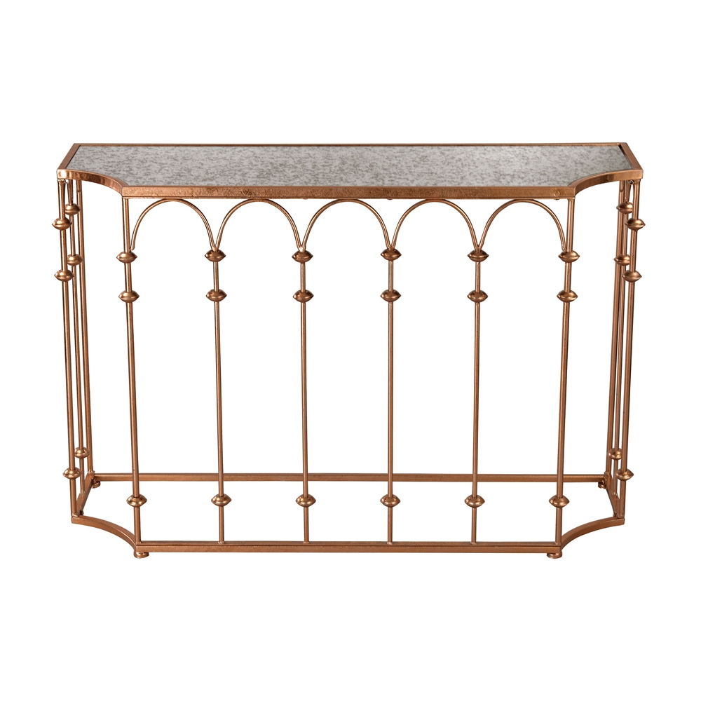 Copper Arch Console. Picture 1
