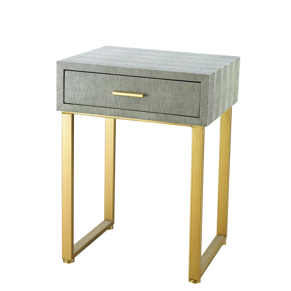 Beaufort Point Accent Side Table With Drawer. Picture 1