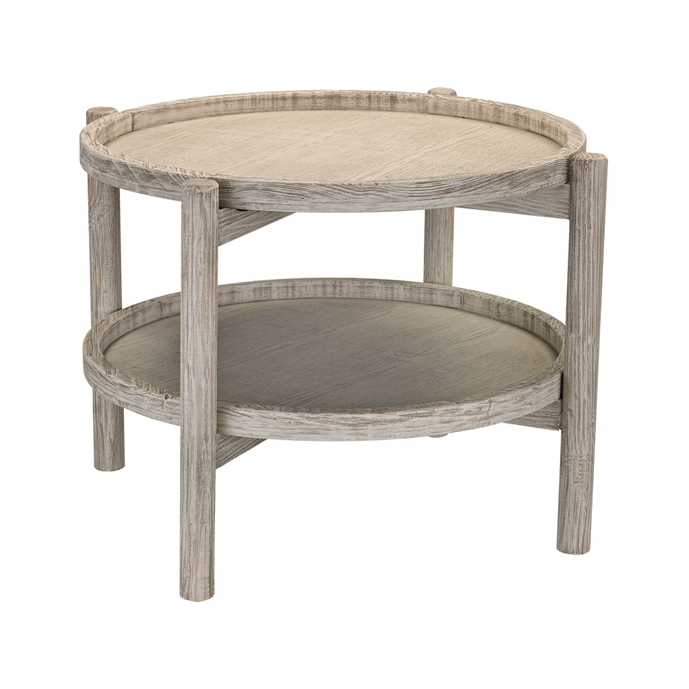 Driftwood End Table: Driftwood Finish Side Table