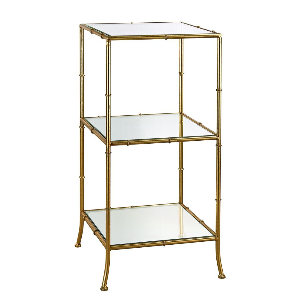 Bamboo Shelving Unit. Picture 1