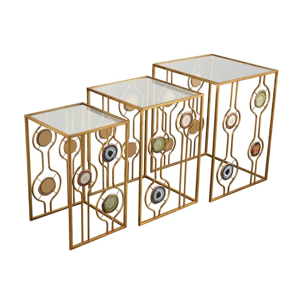 Magna Graecia Nested Accent Tables. Picture 1