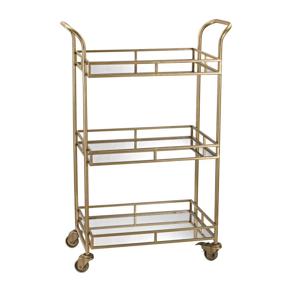 Gold Bar Cart. Picture 1