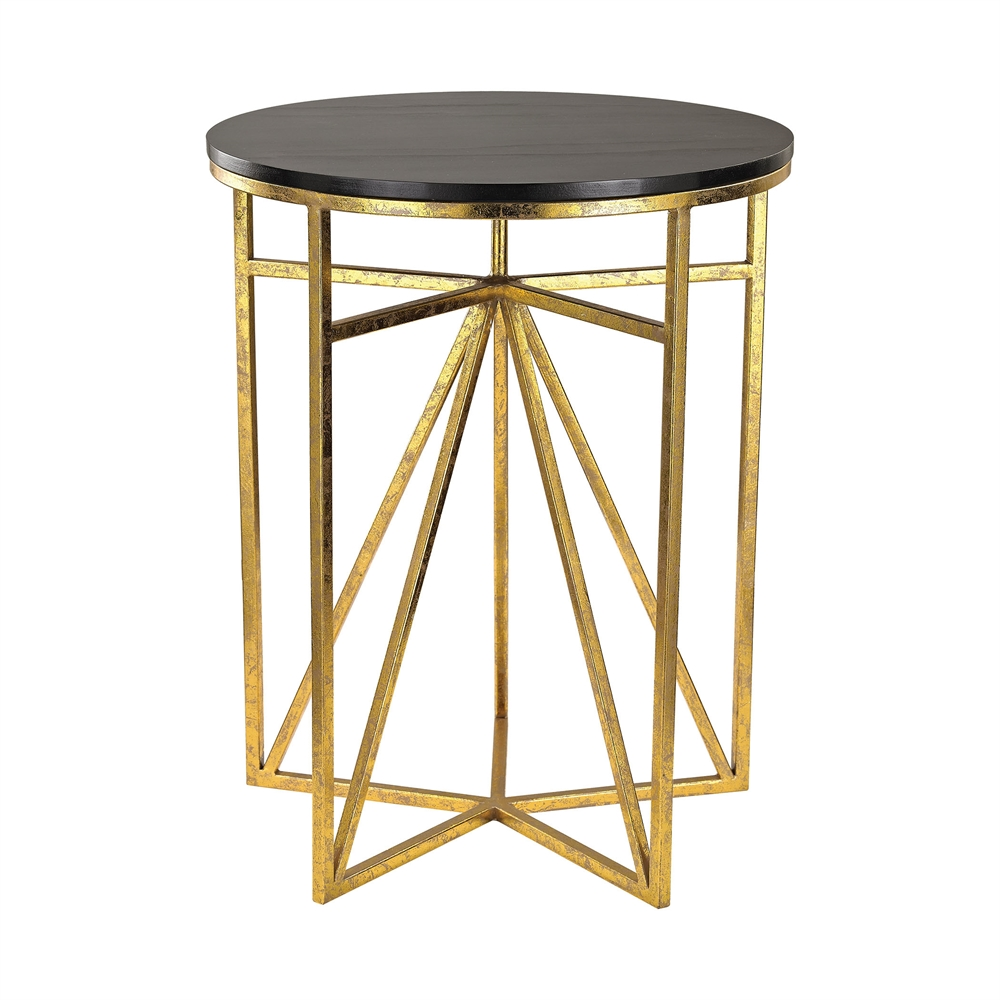 Geometric Accent Table. Picture 1