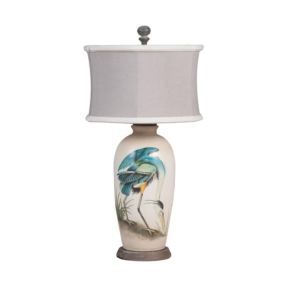 Terra Cotta Lamp VIII. Picture 1