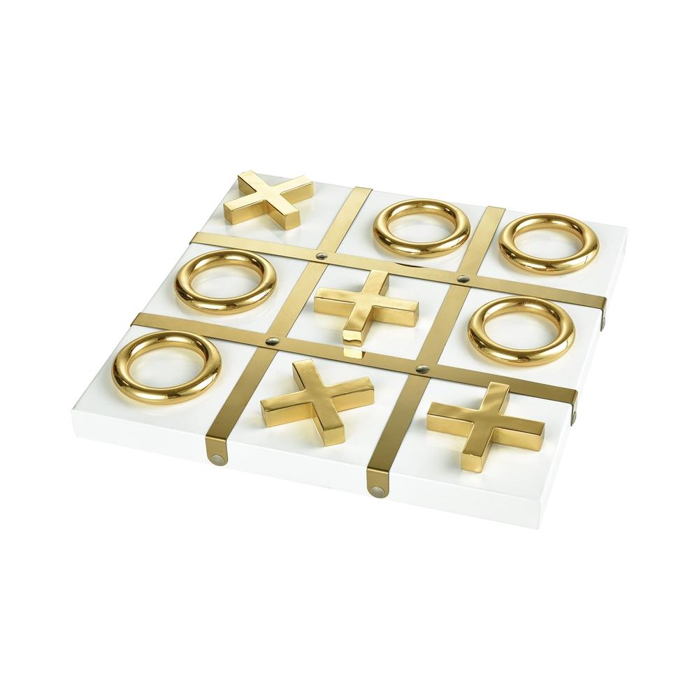 Vanquish Decorative Tic Tac Toe Game. Picture 1