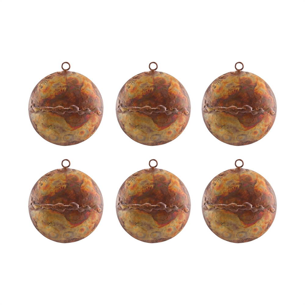 Medallion Set of 6 Ornaments. Picture 1
