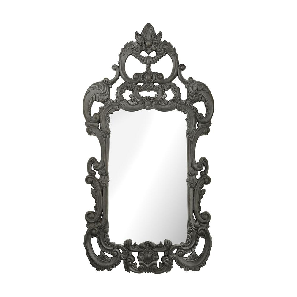 Rocco Mirror In Black Ash. Picture 1