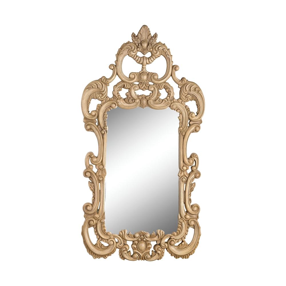 Rocco Mirror In Russian Oak. Picture 1