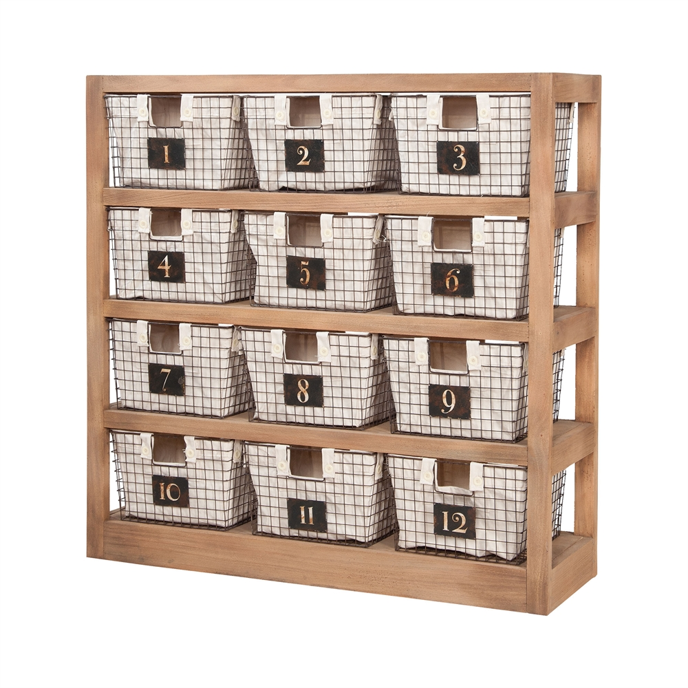 Locker Baskets With Shelves. Picture 1