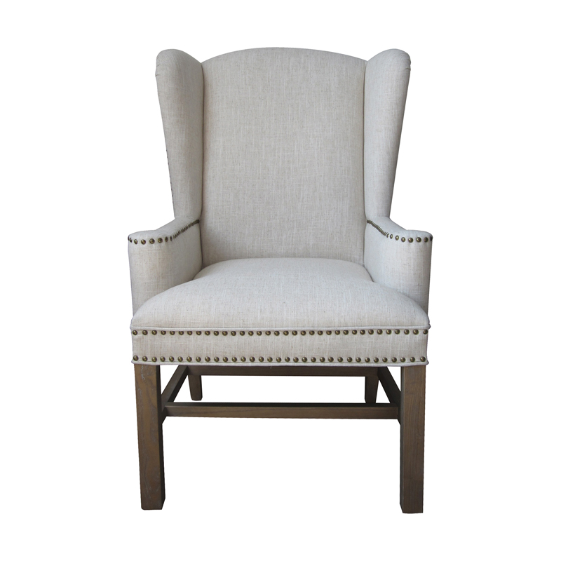 Allcott Wing Back Chair. Picture 1