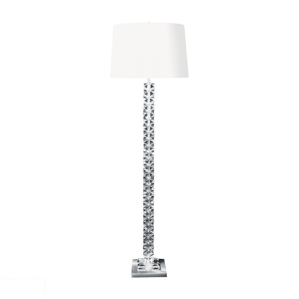 Diamond Cut Crystal LED Floor Lamp. The main picture.