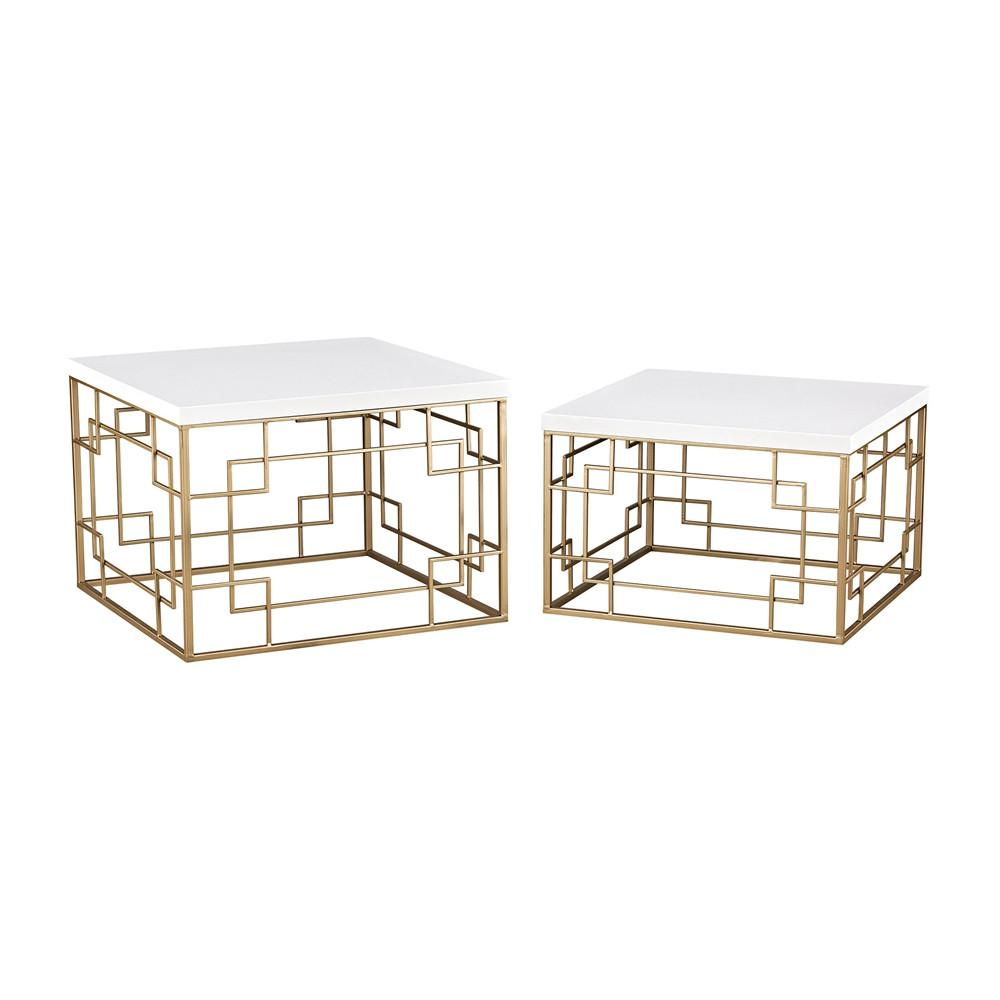 Sugar City Set of 2 Accent Tables. Picture 1