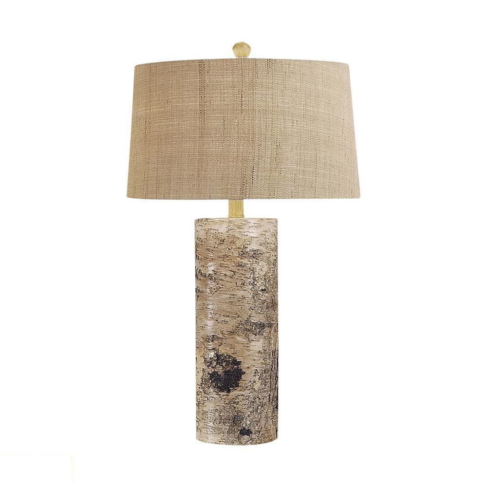 Aspen Bark LED Table Lamp. Picture 1