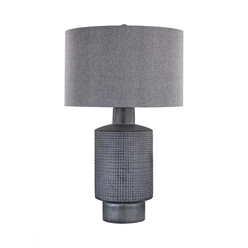 Benson 1 Light LED Table Lamp In Roasted Coffee. Picture 1