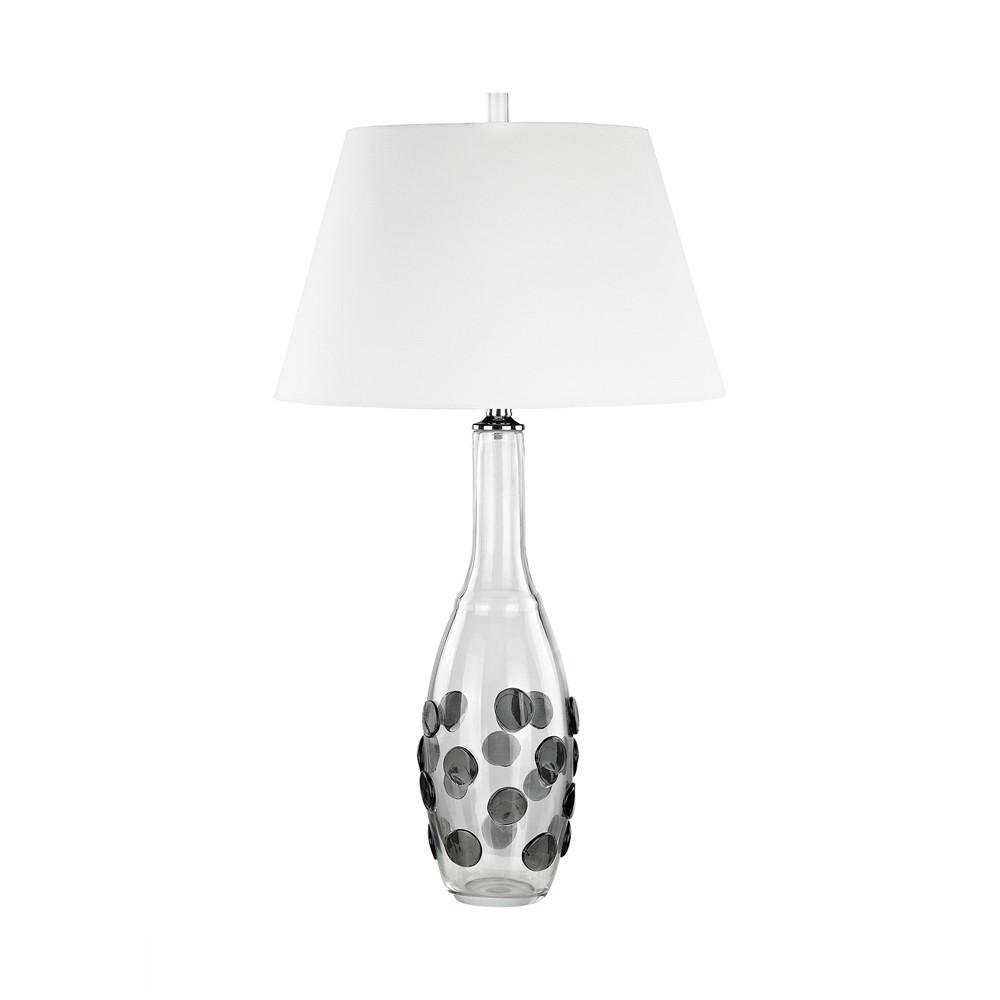 Confiserie LED Table Lamp In Grey. Picture 1