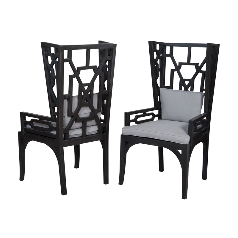 Manor Wing Chairs - Set of 2. Picture 1