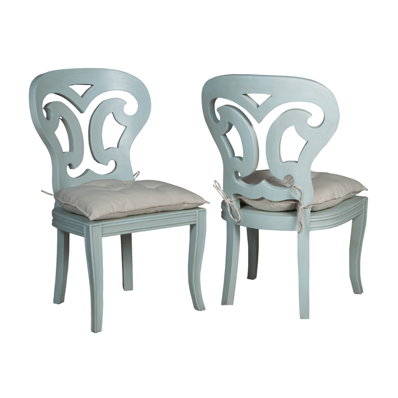 Artifacts Side Chairs In Manor Sage - Set of 2. Picture 1