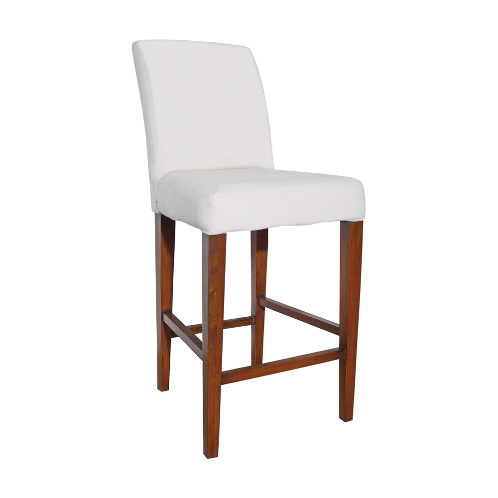 Couture Covers Parsons Bar Stool In New Signature Stain. Picture 1