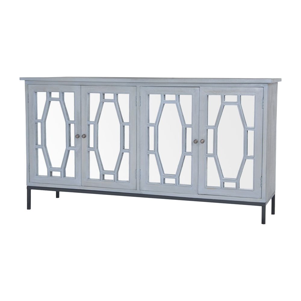 Presidio Cabinet II In Gravesend Grey - Large. Picture 1