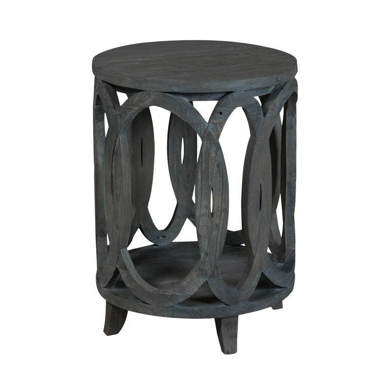 Interlocking Circles Accent Table. Picture 1