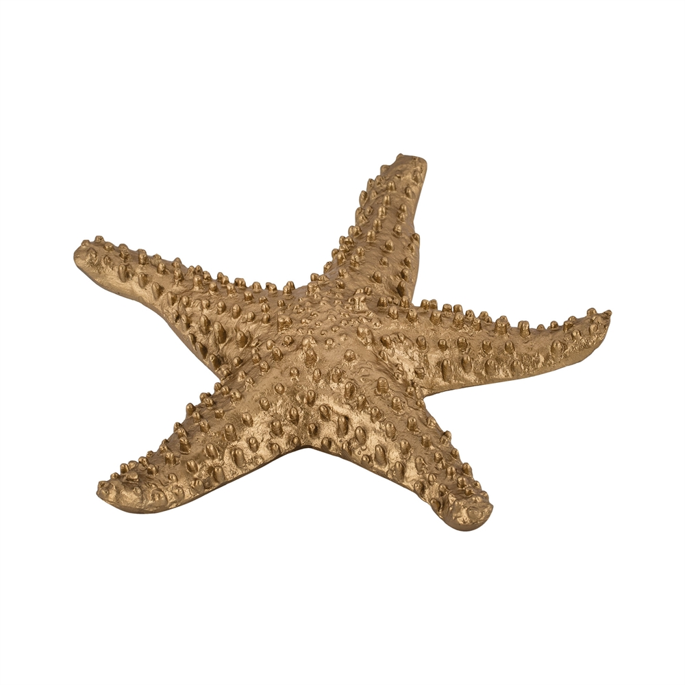 Gold Table Top Starfiish. Picture 1