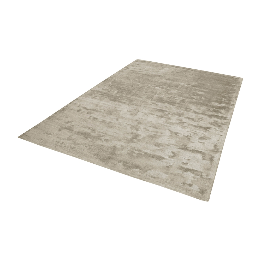 Auram Handwoven Viscose Rug In Stone - 3ft x 5ft. Picture 1