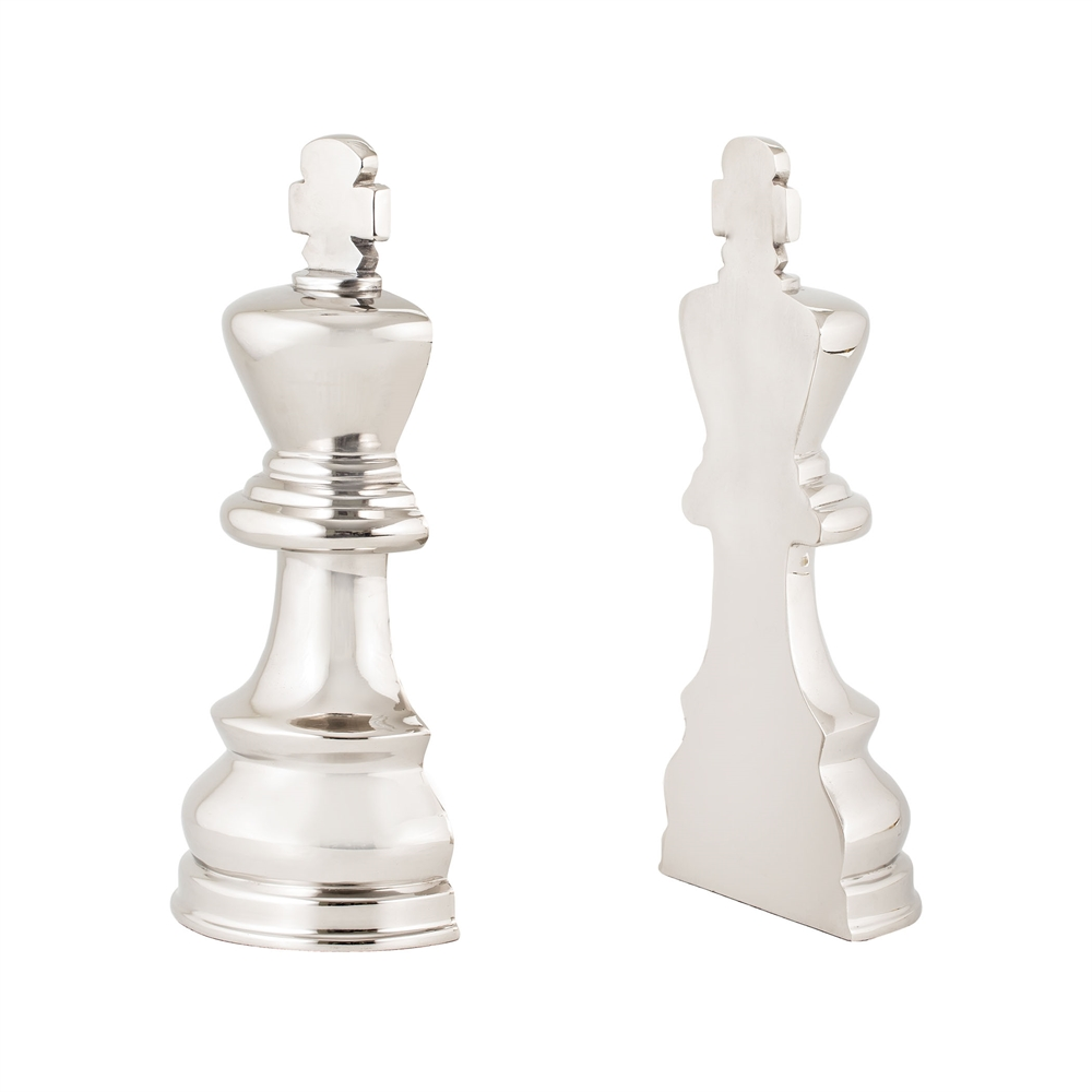 Chess Piece Book Ends. Picture 1