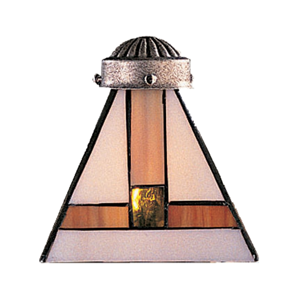 Titan Lighting Tiffany Buckingham 4 Light Ceiling Mount: Mix-N-Match 1 Light Tiffany Glass Shade