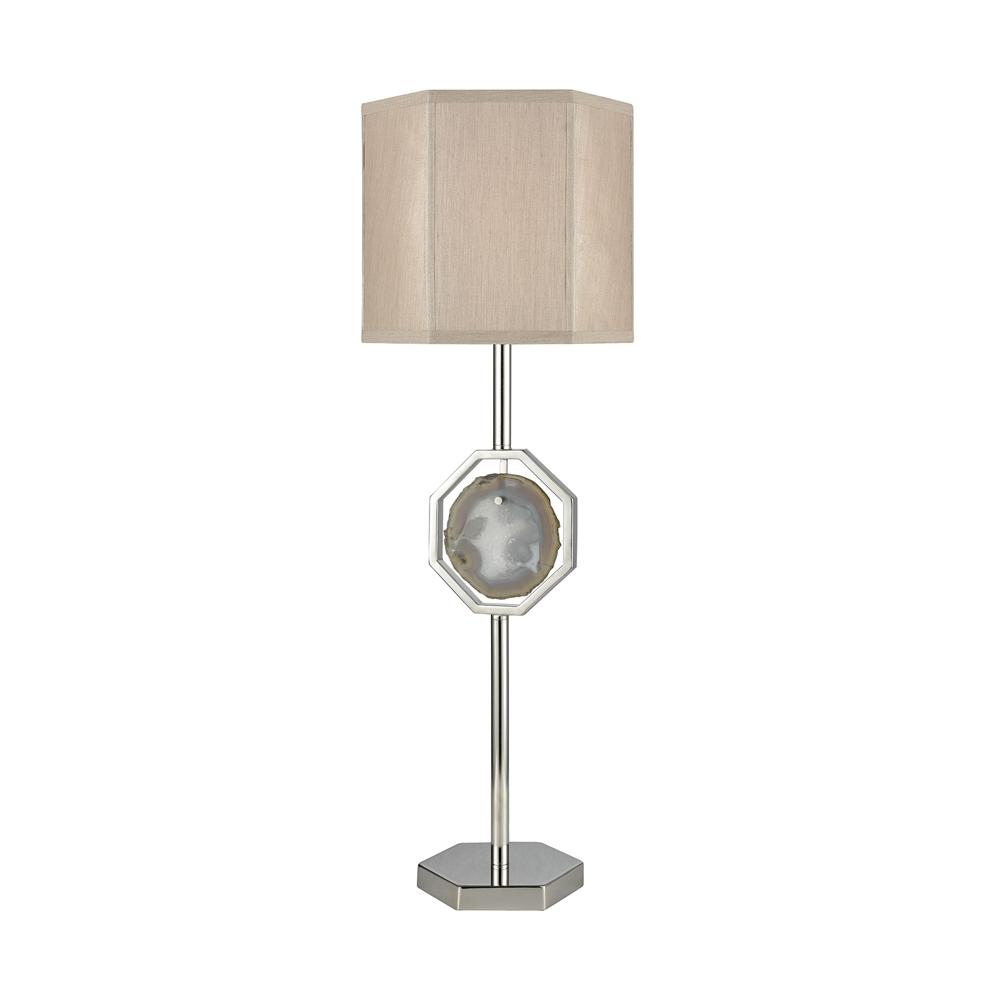 Askja Agate Table Lamp - Single Aria. Picture 1