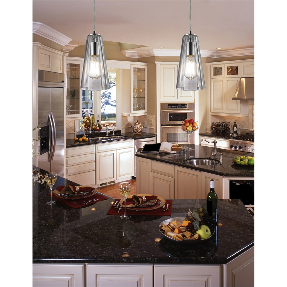 Menlow Park 6 Light Pendant In Oil Rubbed Bronze, 60047-6RC. Picture 2