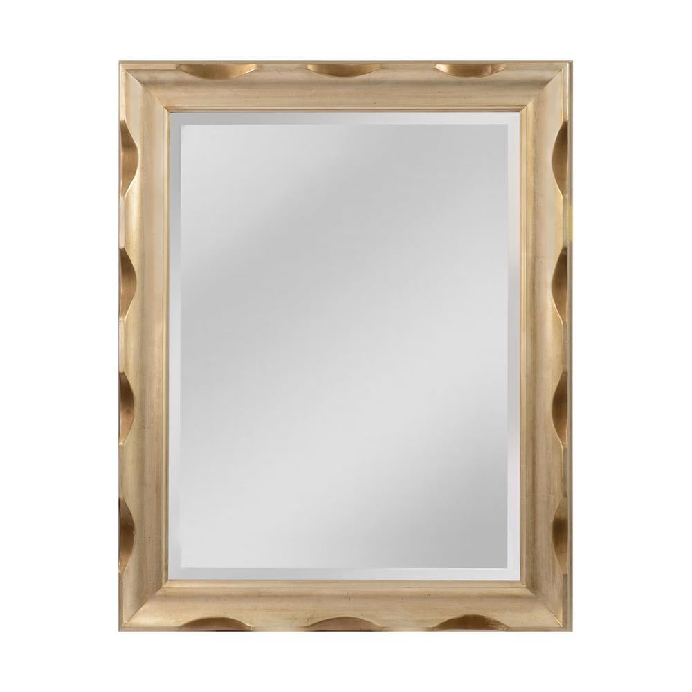Festive Large Scalloped Edge Make This Mirror One Of A Kind. Picture 1
