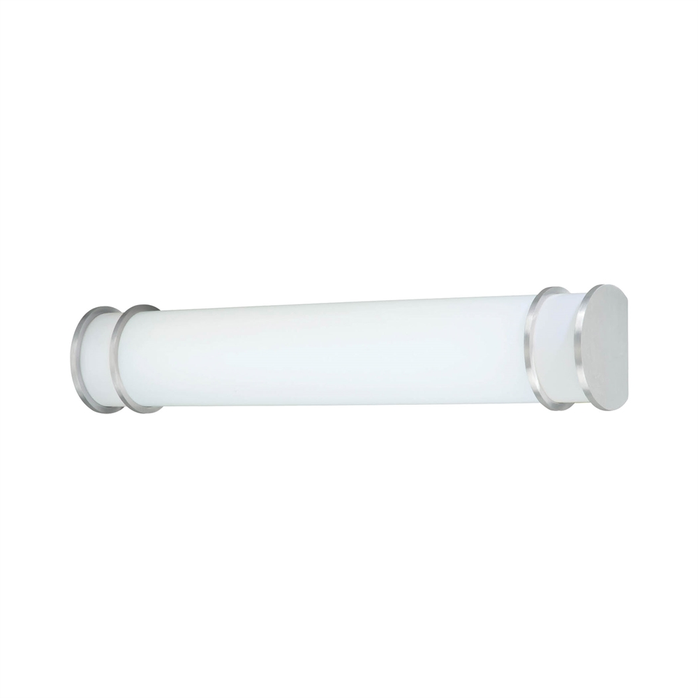 Parallel Wall Lamp Brushed Nickel 2X32W. Picture 1