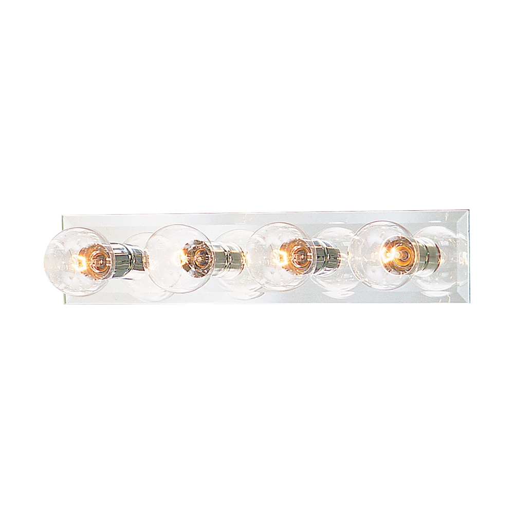 Vanity Strips Wall Lamp Chrome 4X100W. Picture 1