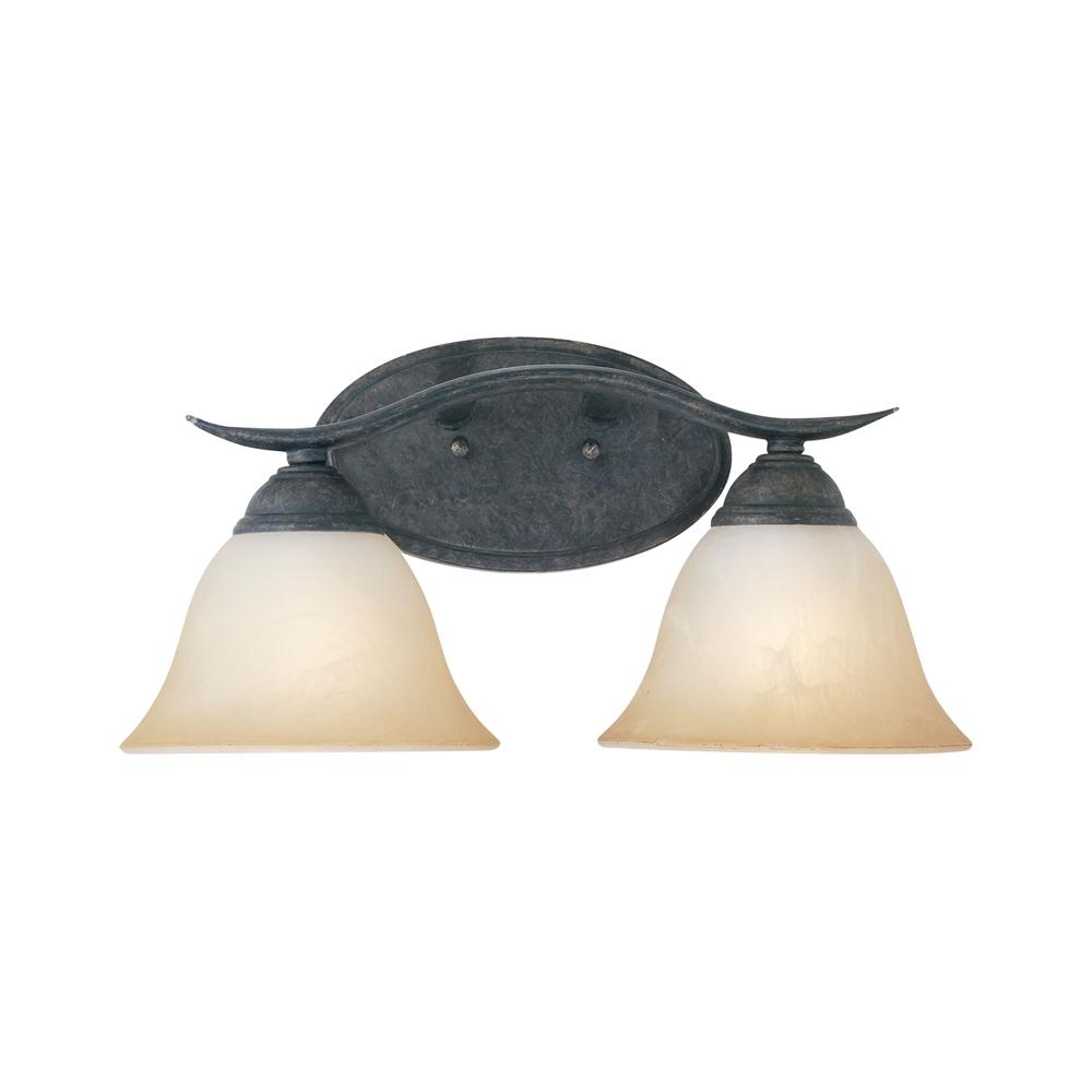 Prestige Wall Lamp Sable Bronze 2X100W. Picture 1