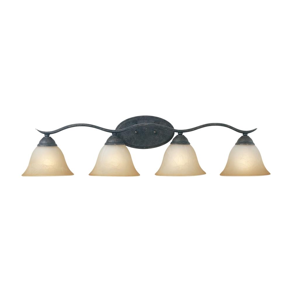 Prestige Wall Lamp Sable Bronze 4X100W. Picture 1