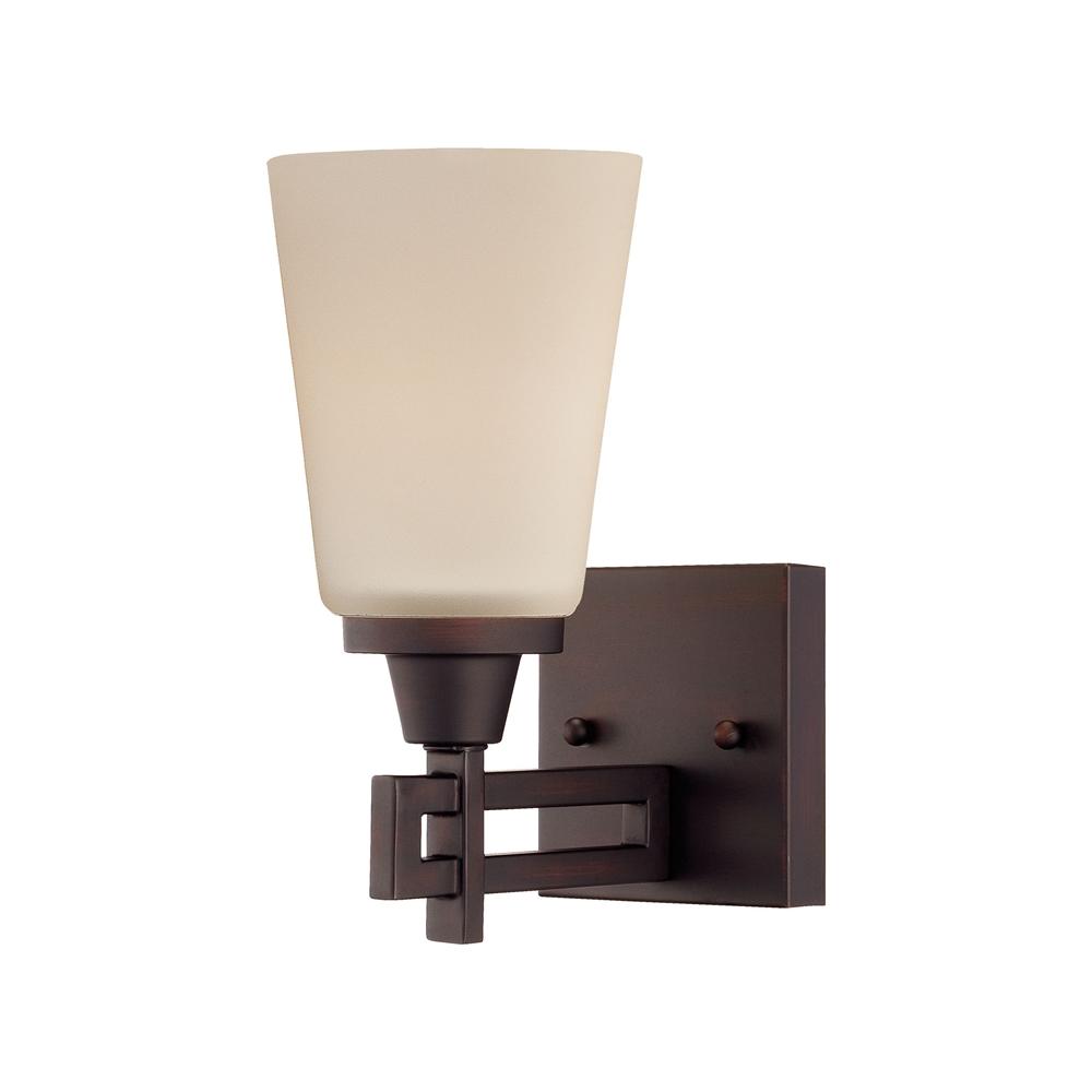 Wright Wall Lamp Espresso 1X100W 120V. Picture 1