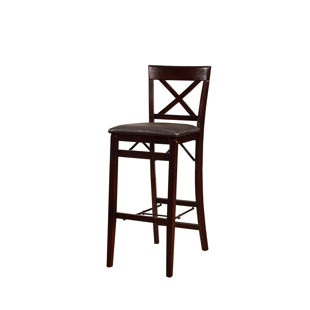 triena x back folding bar stool. Black Bedroom Furniture Sets. Home Design Ideas