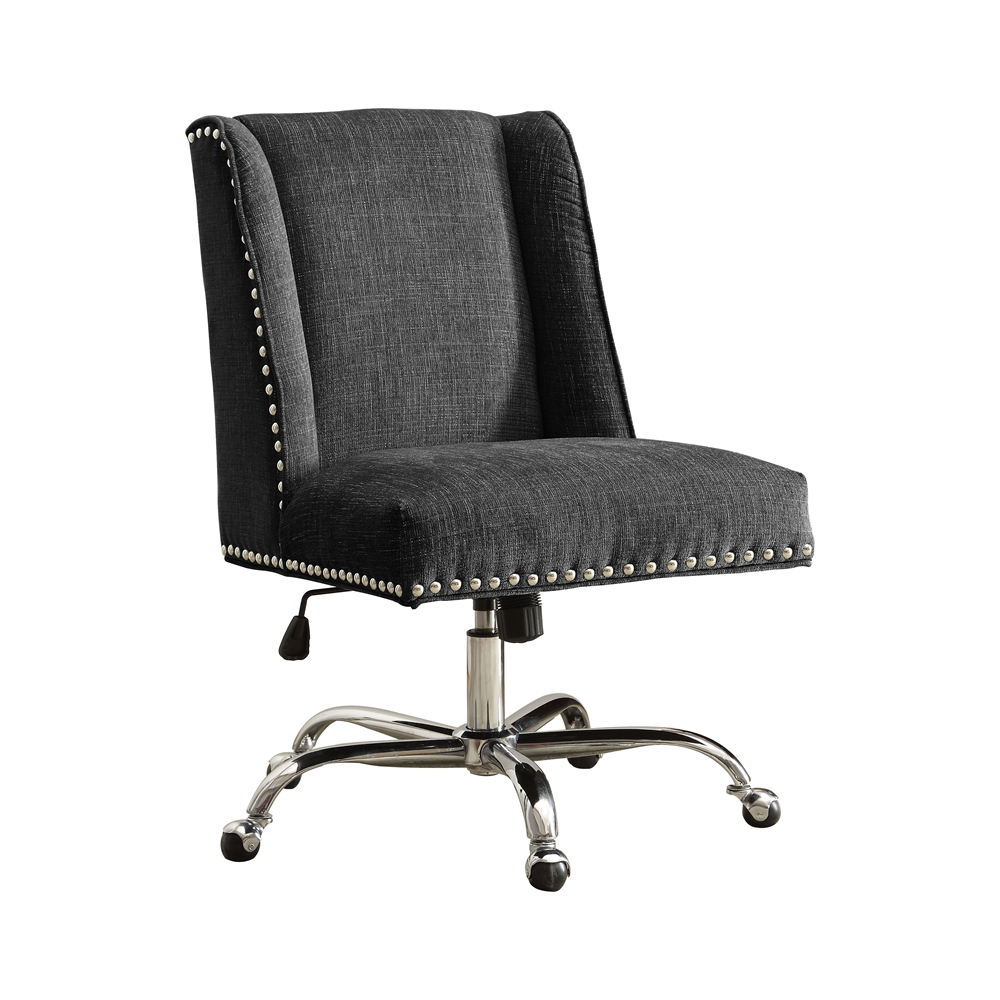 Draper Office Chair, Charcoal